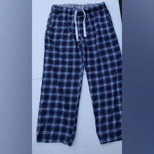 Aeropostale Aero Dorm Plaid Pajamas Size Large
